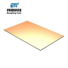 Personnalisez la feuille d'or de feuille de métal d'or de miroir de feuille d'or pour le bâtiment de construction