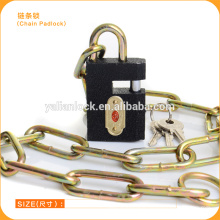 Bicycle anti-theft chain lock