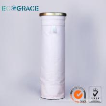 Buena estabilidad de la hidrólisis colector de polvo de la tela manguito de filtración del PE