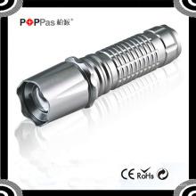Poppas 817 Высококачественный 3W перезаряжаемый 150 люмен XPE Zoomale Ламповый факел