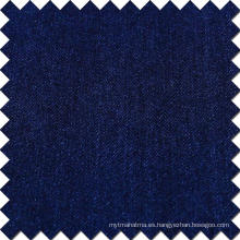 Algodón Azul Rayón Polyester Spandex Tejido Denim