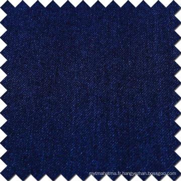 Tissu en coton à rayures en coton bleu rayé en élasthanne