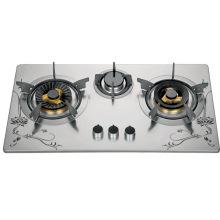 Estufa de gas de tres hornillas (SZ-LX-247)