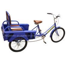 Plegable asiento anciano Triciclo de tres ruedas (FP-TRCY026)