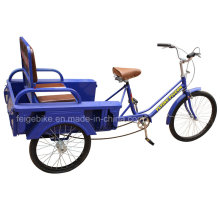 Foldable Seat Elder People Three Wheel Tricycle (FP-TRCY026)