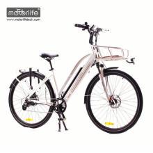La bicicleta eléctrica de la ciudad del medio-paseo de BAFANG hizo en China / la mejor bicicleta eléctrica de la calidad 36V250W para la venta