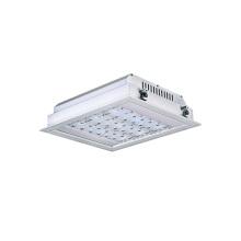 Luz de la gasolinera LED empotrada con dosel LED de 120W con 5 años de garantía