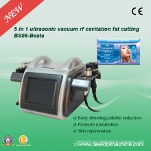 5 en 1 ultrasonidos Vacío RF cavitación Fat corte BS08