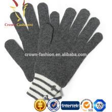 Melhor cabo de cashmere malha luvas para senhoras moda inverno