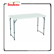 Height Adjustable Folding Utility Table