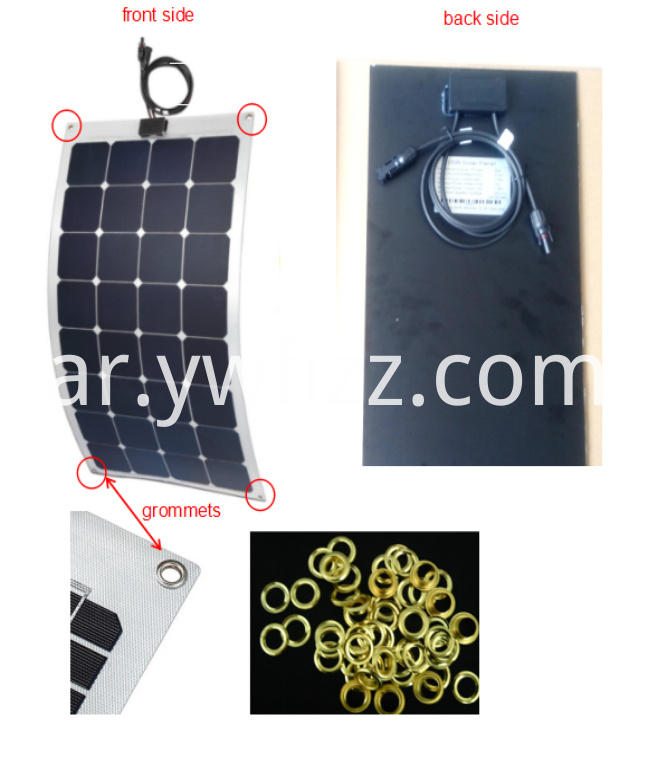 Multifunctional Solar Flexible Battery Panel