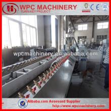 Máquina composta de plástico de madeira Máquina composta de plástico de madeira