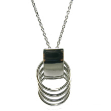 Высокое качество и мода Женщина ювелирные изделия 925 Серебряное ожерелье (N6813)