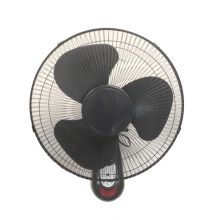 Wandventilator 16inch Full Black mit Fernbedienung