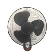 Wall Fan 16inch preto completo com controle remoto