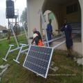 Farola integrada Solar Golden Bean