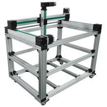 actuador de bolas de disco industrial accionador lineal de carrera de 500 mm para mover la cámara