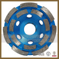 Roue de coupe diamantée en polissage à béton en pierre (SY-DCW-1000)