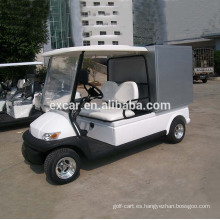Excar Production 2 Seats Electric Golf Car con Cargo