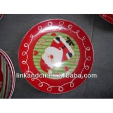 Haonai 2014 rouge jolie décalque en céramique
