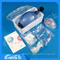 Resuscitador manual de PVC