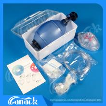 Resucitador manual de PVC con productos animales Ce ISO