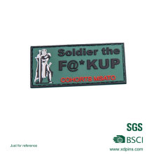 Emblema personalizado do remendo do PVC do exército para o clube (XDP-01)