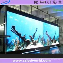 Fabricação video da parede do diodo emissor de luz da cor completa exterior de P10 China (CE)