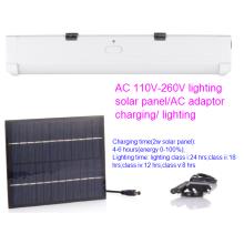Luz de tubo recargable de la energía solar de la CA DC con 5 clases de iluminación