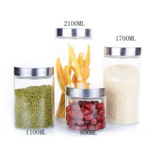 Factory Promotional for Supply Storage Containers, Food Storage Containers, Food Containers from China Supplier Glass fresh-keeping sealed jar export to Denmark Exporter