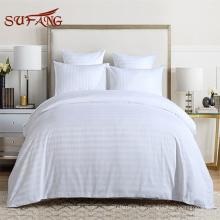 Горячая распродажа онлайн магазин отеля и госпиталя постельное белье 1-3см полоса текстиль постельное белье из Sufang поставки