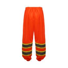 2016 calças de trabalho de venda quente reflexivo com alta qualidade 100% malha de poliéster