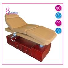 Elektrisches Massagebett mit Holzrahmen