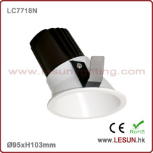 Iluminación comercial High Power LED COB Downlight 8W LC7718n