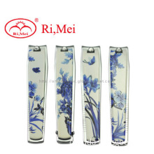 Wholesale blue and white porcelain nail clipper