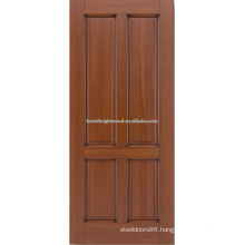4- panel mahogany hardwood door design