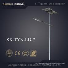 China 5 anos de luz de rua solar do diodo emissor de luz da garantia 30W-180W