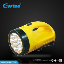 Rotating search light with 18 led table light