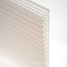 Hoja de policarbonato para decoración Skylight 10 años de garantía Diferentes colores