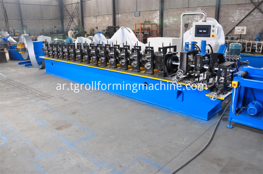 Shelf Upright Roll Forming Machine