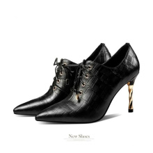 Factory Best Selling High Quality Leather Shoes China for Lady