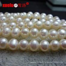 6-7mm a Nearly Round Freshwater Pearl Strands E180010