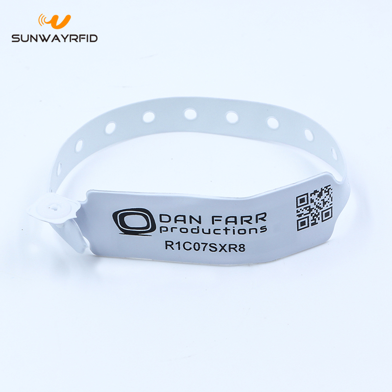 pvc Rfid Disposable Bracelet