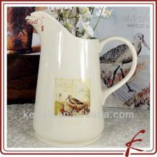 Pot d'eau de cuisine en céramique de 10 po