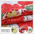 Tissu de broderie de dentelle chimique décorative confortable de haute qualité