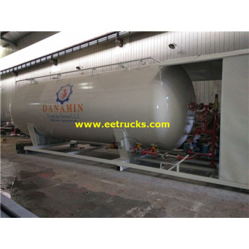 60cbm 25ton Skid Mounted Propane Tanks