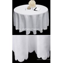 Очищающая белая скатерть для банкетного стола (YC-BC23)
