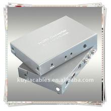 Composite to HDMI Converter verbessern die Eingabe Video-und Audio-Performance am besten zu stabiler und klar 720p Video-Signal-Ausgang