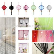 Regalo de Navidad de proveedor de China regalo hecho a mano decoración de cuerda cortina