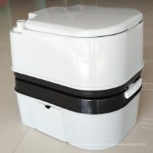12L 20L 24L Inodoro portátil de plástico WC móvil al aire libre